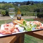 Castaway Norfolk Island - Platter on the deck