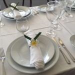 Castaway Norfolk Island accommodation table setting
